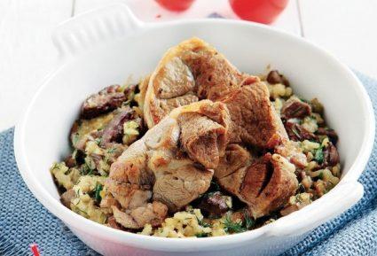 Αρνάκι στο φούρνο µε ρύζι-featured_image