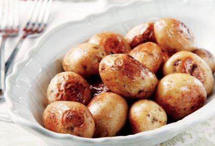 Μελωµένες πατάτες µε δεντρολίβανο-featured_image