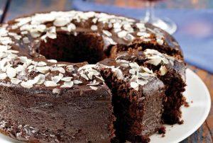 εύκολο κέικ κακάο