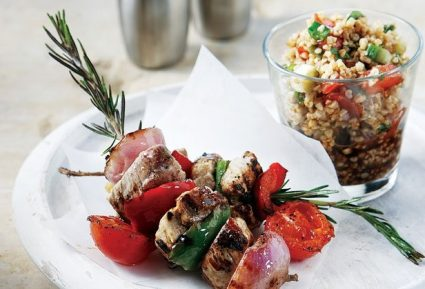 Ψαρονέφρι σουβλάκι µε λαχανικά-featured_image