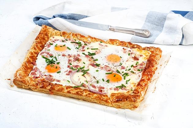 Αυγά μάτια στο φούρνο