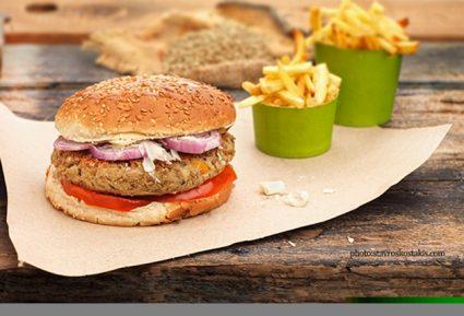 Μπέργκερ με μπιφτέκι λαχανικών-featured_image