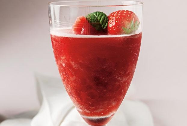 Δροσερό κολονέλο με φράουλες