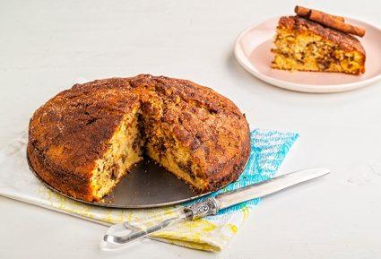 Εύκολο και γρήγορο κέικ κανέλα-featured_image