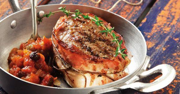 Φιλέτο μοσχάρι με γλυκόξινη σάλτσα της Αργυρώς