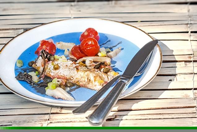 Φιλέτο ψάρι στο φούρνο