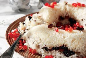 γιορτινό ρύζι πιλάφι συνοδευτικο γαρνιτουρα συνταγη χριστουγεννιατικο τραπεζι