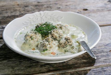 Γιουβαρλάκια αυγολέμονο με λαχανικά-featured_image