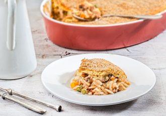 γιουβέτσι με κιμά στο φούρνο συνταγη κριθαρακι ογκρατεν