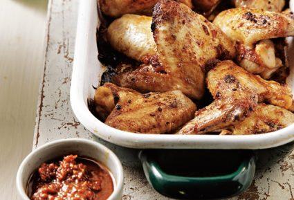 Φτερούγες κοτόπουλο στο φούρνο-featured_image