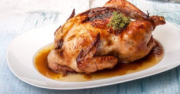 γλυκόξινο κοτόπουλο στη γάστρα με πορτοκαλι μελι βαλσαμικο στο φούρνο κοτοπουλο φουρνου με κρουστα και γλυκοξινη σαλτσα συνταγη
