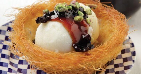 καταΐφι με παγωτό καϊμάκι