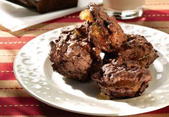 συνταγη καρυδάτα με σοκολάτα γεμιστά με μαρμελάδα πορτοκάλι