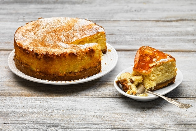 Κεφαλλονίτικο cheesecake της Τασίας