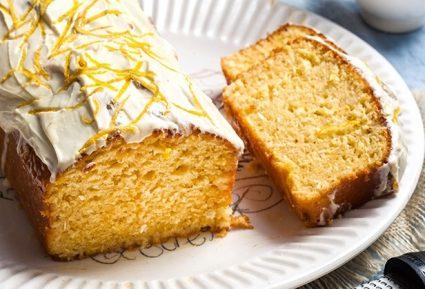 Κέικ λεμόνι – καρύδα με γλάσο λεμονιού-featured_image