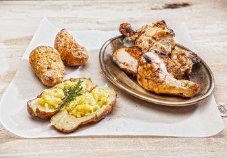 κοτόπουλο bbq