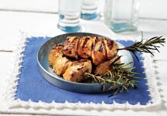 σουβλάκι κοτόπουλο μαριναδα για σουβλάκια συνταγη αργυρω