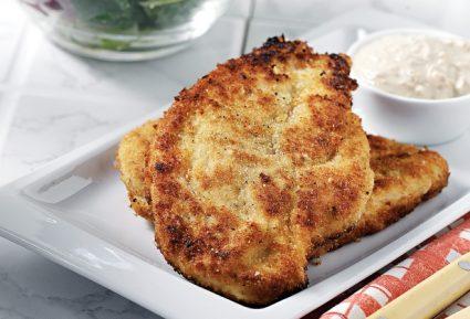 Κοτόπουλο πανέ με σως γιαουρτιού-featured_image