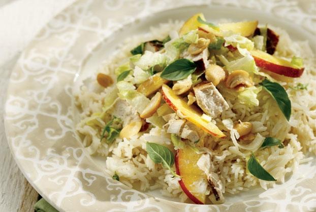 Κοτοσαλάτα με ρύζι