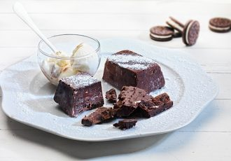 κρύο κέικ με μπισκότα