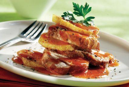 Χοιρινό με πατάτες κοκκινιστές (ρόστο Νάξου)-featured_image