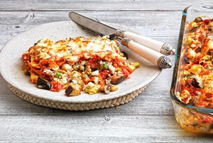 λαζάνια με λαχανικά σουφλε λαχανικων με τυρια στο φουρνο συνταγη
