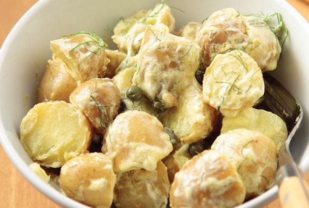 Λεμονάτες baby πατάτες