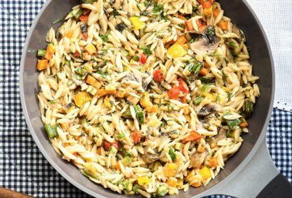 Κριθαράκι με λαχανικά και ταχίνι-featured_image