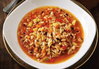 σούπα μινεστρόνε λαχανικών