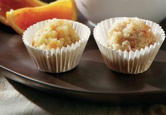 εύκολα αμυγδαλωτά νηστισιμα γλυκα κερασματα με μανταρινι