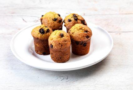 Muffins με σοκολάτα χωρίς ζάχαρη και χωρίς γλουτένη-featured_image