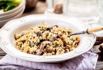 Ριζότο με μανιτάρια νηστίσιμο (Σιταρότο)-featured_image