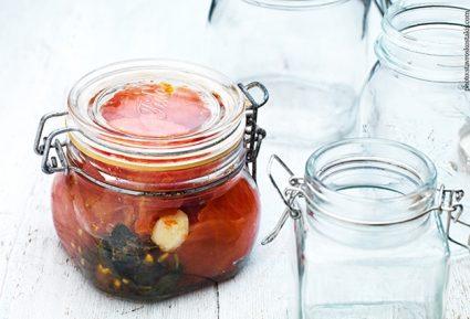 Oλόκληρες ντομάτες σε βάζα / Κονσερβοποίηση & Aποστείρωση-featured_image