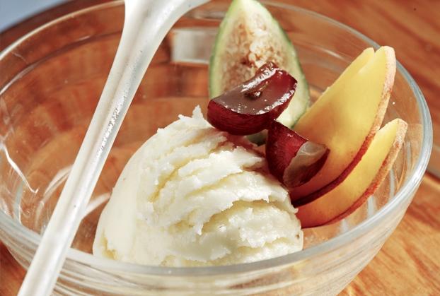 Παγωτό γιαούρτι με βανίλια