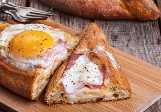 πεϊνιρλί με αυγό