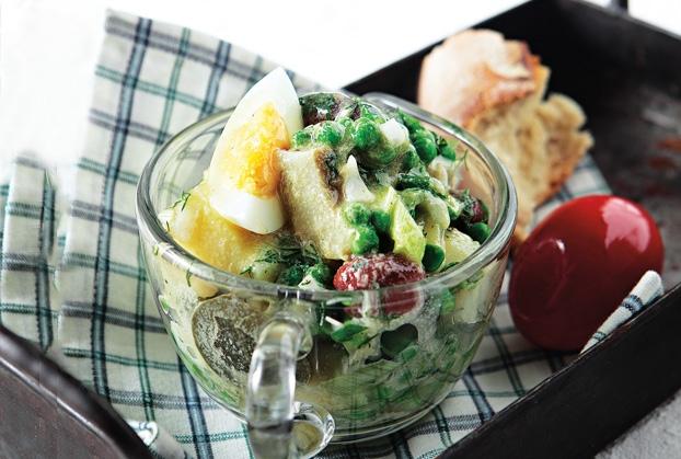 Πασχαλινή σαλάτα με αυγά