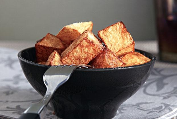Πατάτες φούρνου σαν τηγανητές