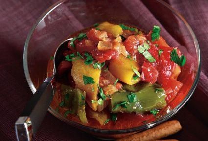 Πιπεροσαλάτα με ψητές πιπεριές-featured_image