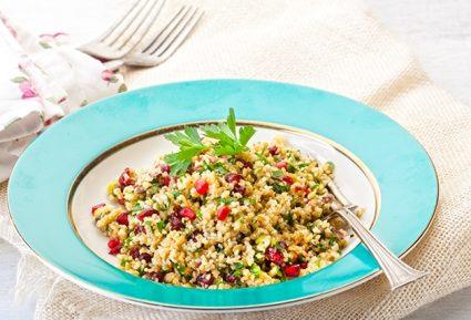 Πλιγούρι σαλάτα  με κράνμπερι, φρούτα και ξηρούς καρπούς-featured_image