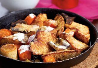 Πρασοσελινόριζα στο φούρνο με κρούστα-featured_image