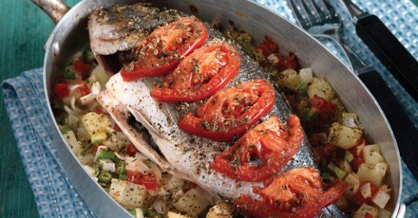 ψάρι στο φούρνο