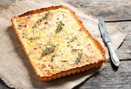 Quiche Lorraine με ζύμη πίτσας-featured_image