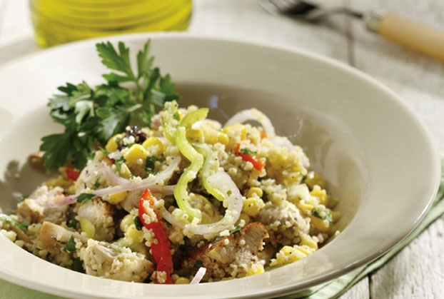 Κοτόπουλο σαλάτα με κους κους-featured_image