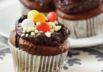cupcakes σοκολάτα συνταγη αργυρω