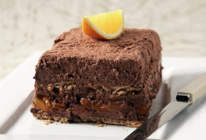 Σοκολατένιο γλυκό με καρύδια και πορτοκάλι-featured_image