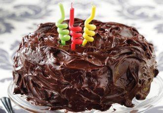 τούρτα κέικ γενθλίων