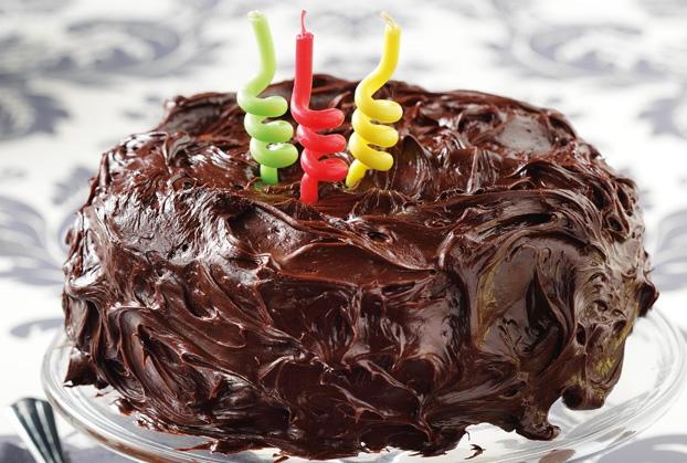 Σοκολατένιο κέικ γενεθλίων