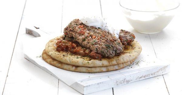 κεμπάπ γιαουρτλού Κεμπάπ γιαουρτλού, με τέλεια σάλτσα εζμέ της Αργυρώς
