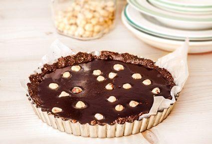Νηστίσιμητάρτα με σοκολάτα χωρίς ψήσιμο-featured_image