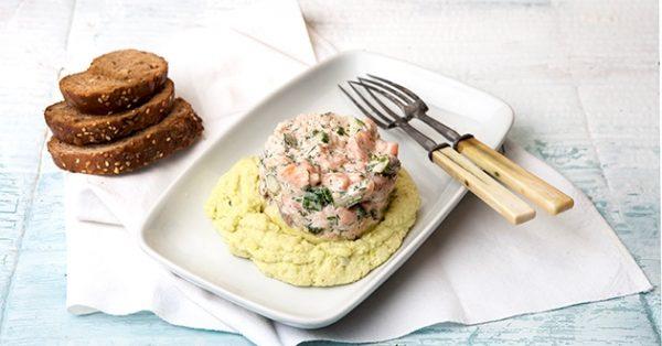 ταρτάρ σολωμού φρεσκου ψαριού συνταγη